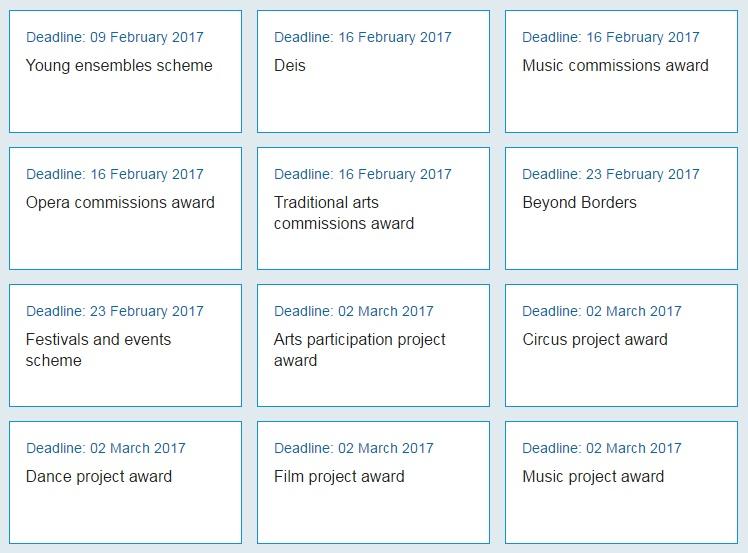 deadlines for funding