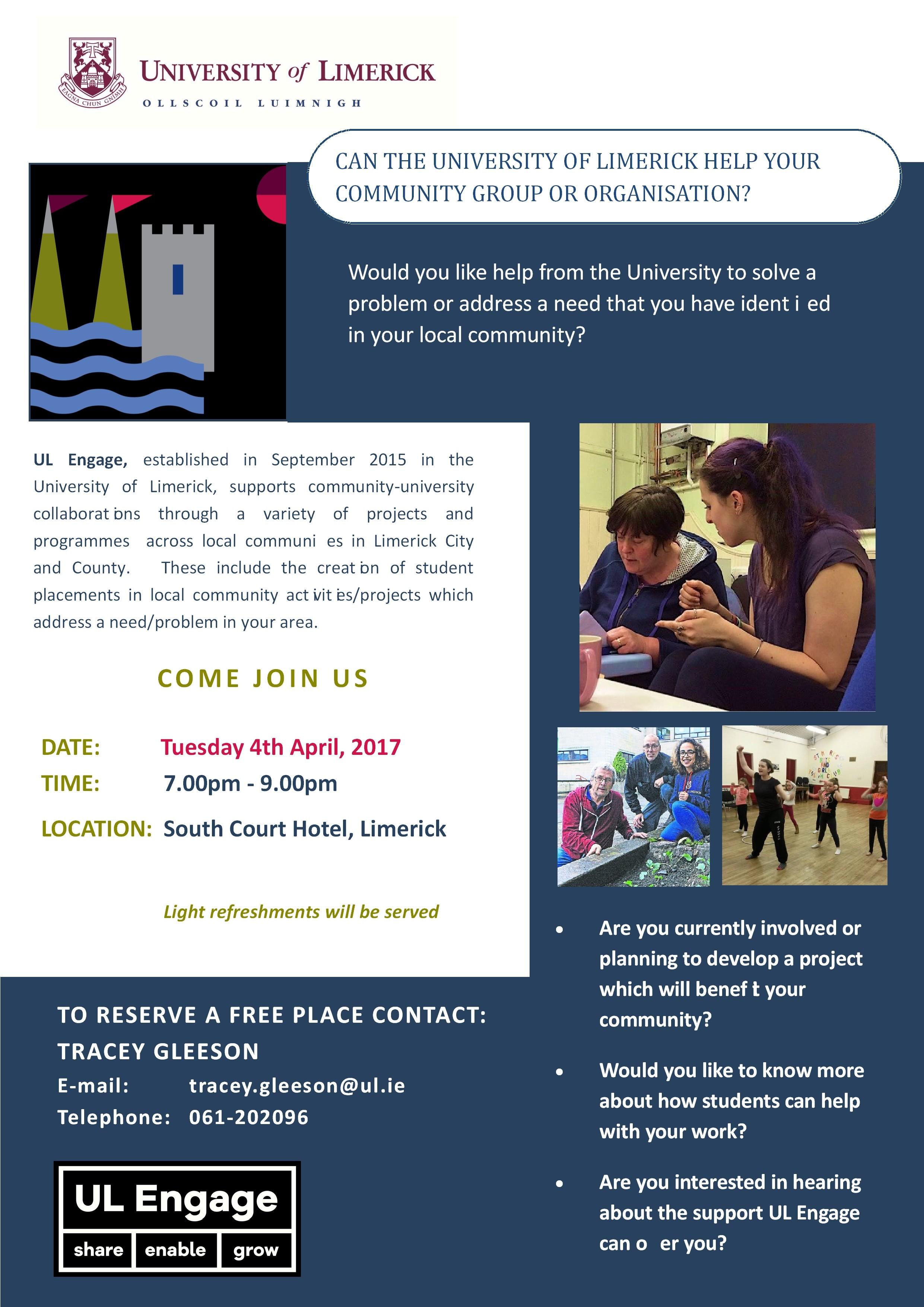 ul engage community information workshops flyer 4th april 2017-001